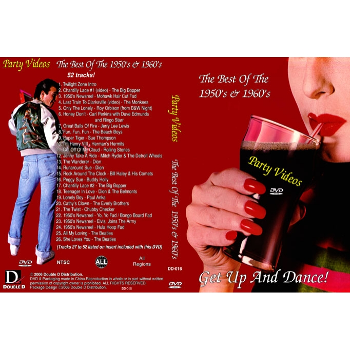 Party Videos - 50's & 60's Rock & Roll Party (NTSC DVD)